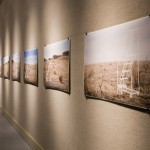 Ladders in the Desert - Photo Series installed