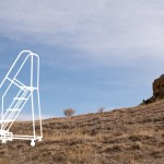 Ladders in the Desert - Photo - ladder on left 02