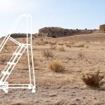 Ladders in the Desert - Photo - ladder on left 03
