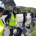 bike ride to Omey Island