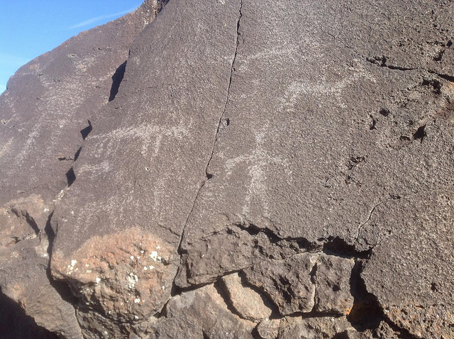 Petroglyphs - photo credit Anne Connell