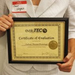 Evalutec Certificate of Evaluation