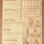 Social Practice Zines: History, 1 of 8 - unfolded