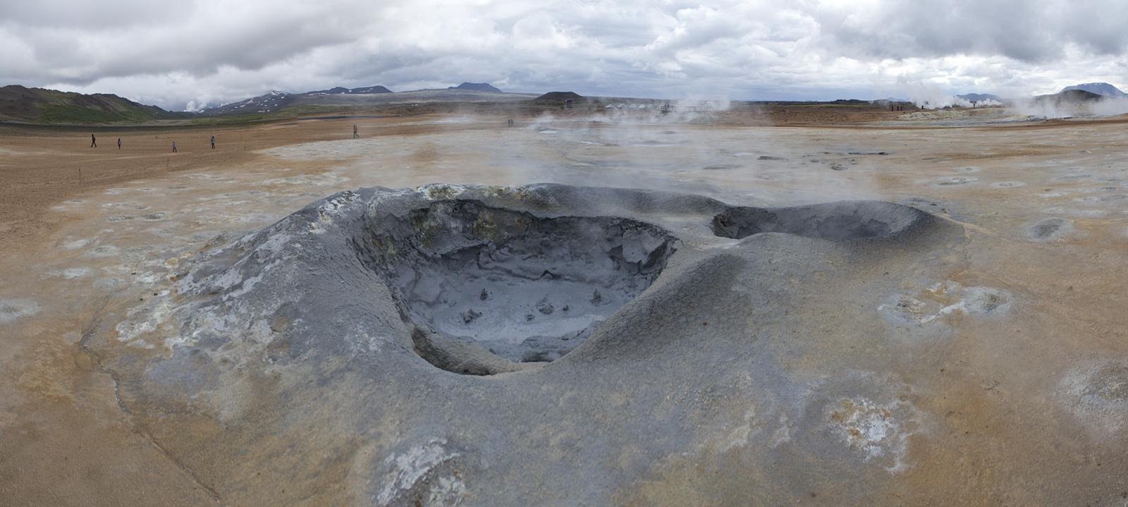 Namafjall big mud pot