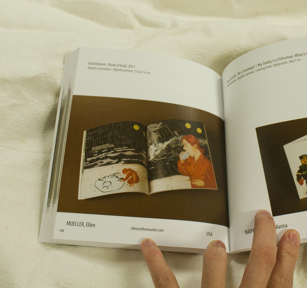 5th International Artists' Book Exhibition 2013 Catalog inside