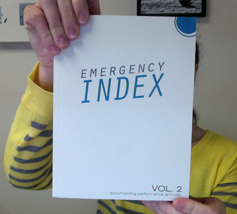 Emergency Index Cover
