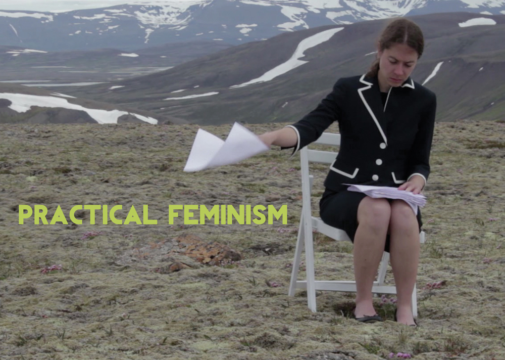 Practical Feminism Postcard Front