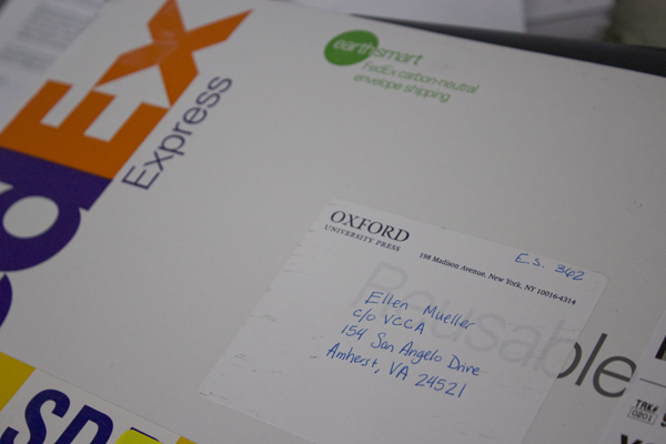 fedex from Oxford University Press