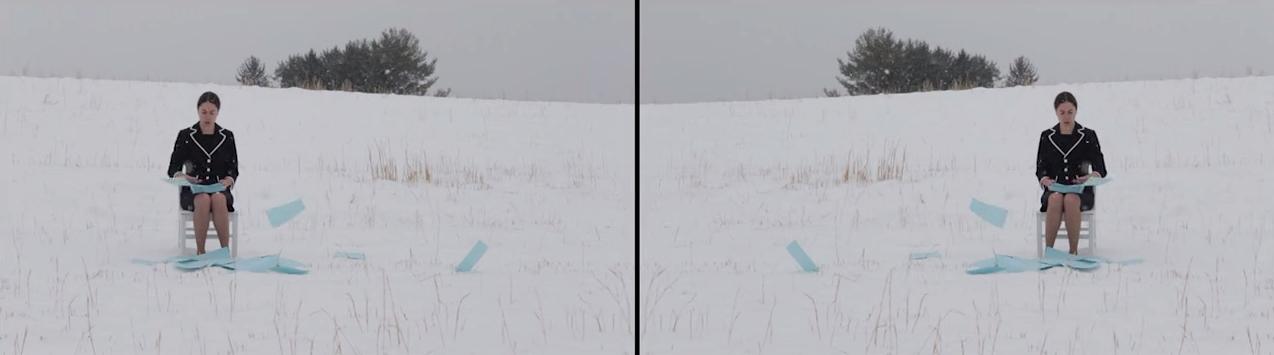 "Still ""Monotonize Series: Snow"" (2013)"
