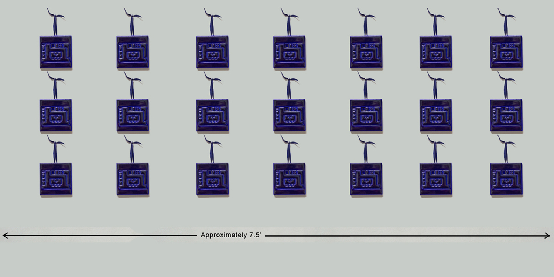 Mockup Illustration of full grid of finished series