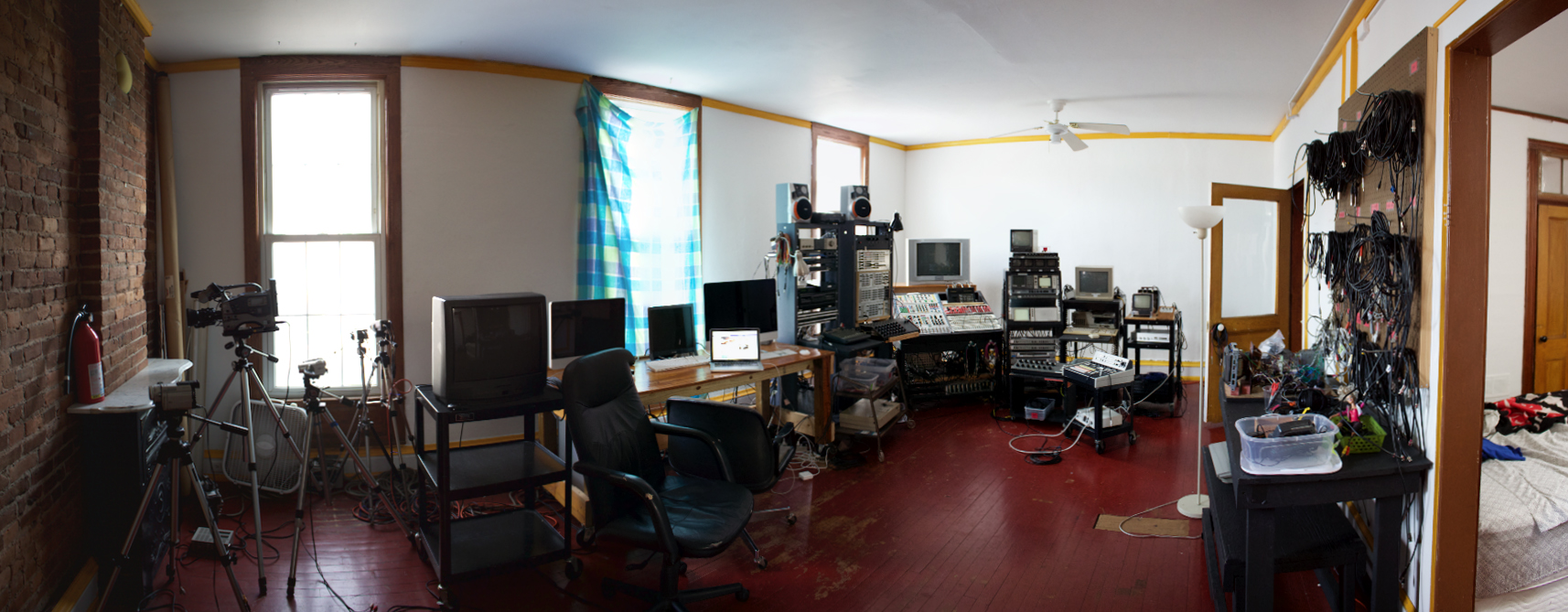 Studio at Signal Culture Residency