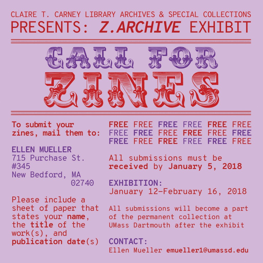 Call for Zines