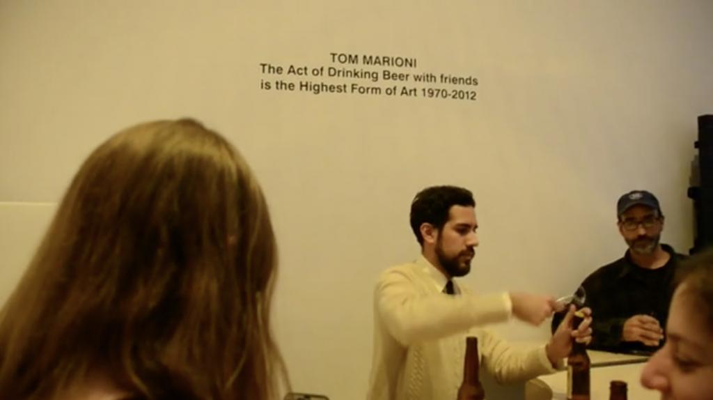 Tom-Marioni-Drinking-Beer