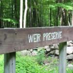 Weir preserve