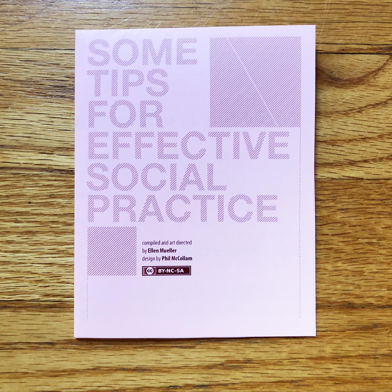 Social Practice Zines: Tips