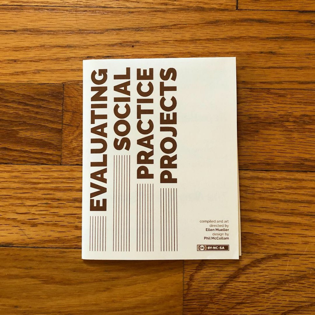 Social Practice Zines: Evaluating