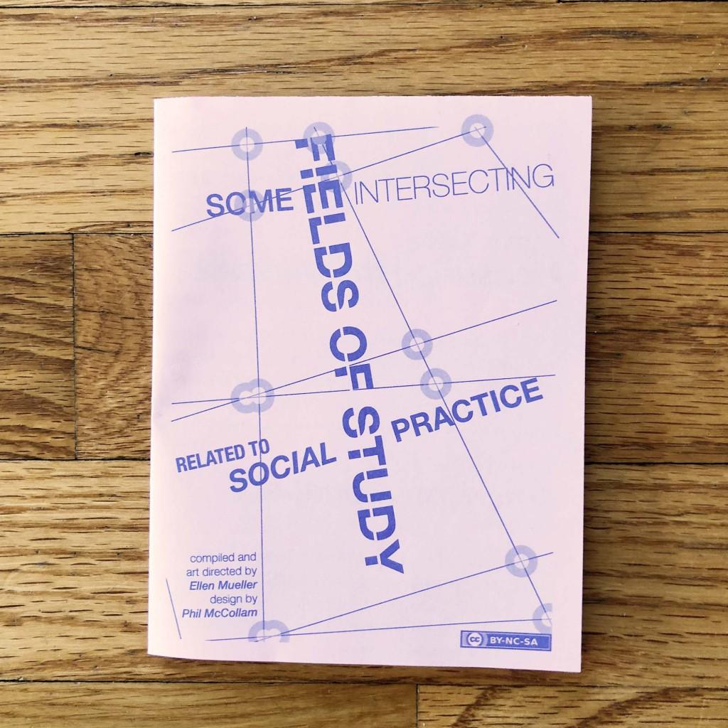 Social Practice Zines: Fields of Study
