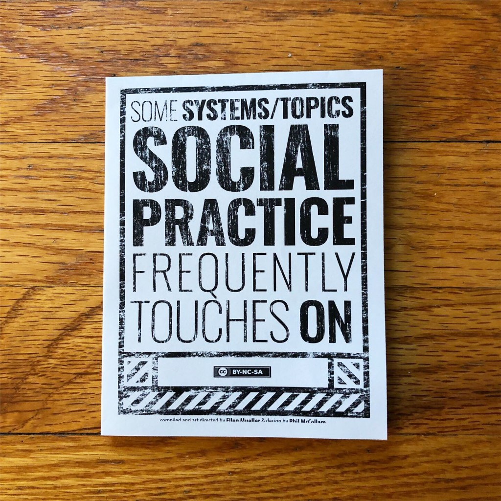 Social Practice Zines: Topics