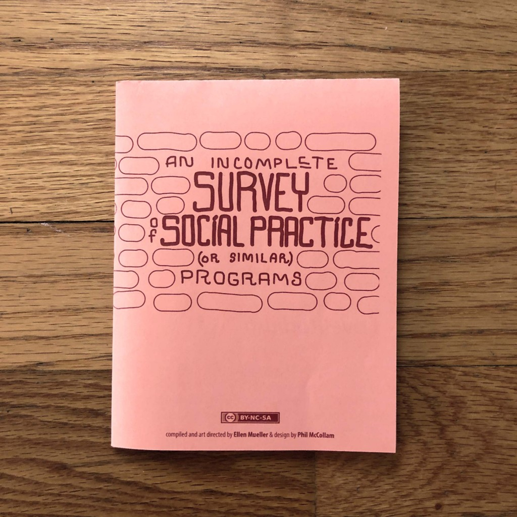 Social Practice Zines: Programs