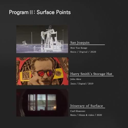 Program II: Surface Points