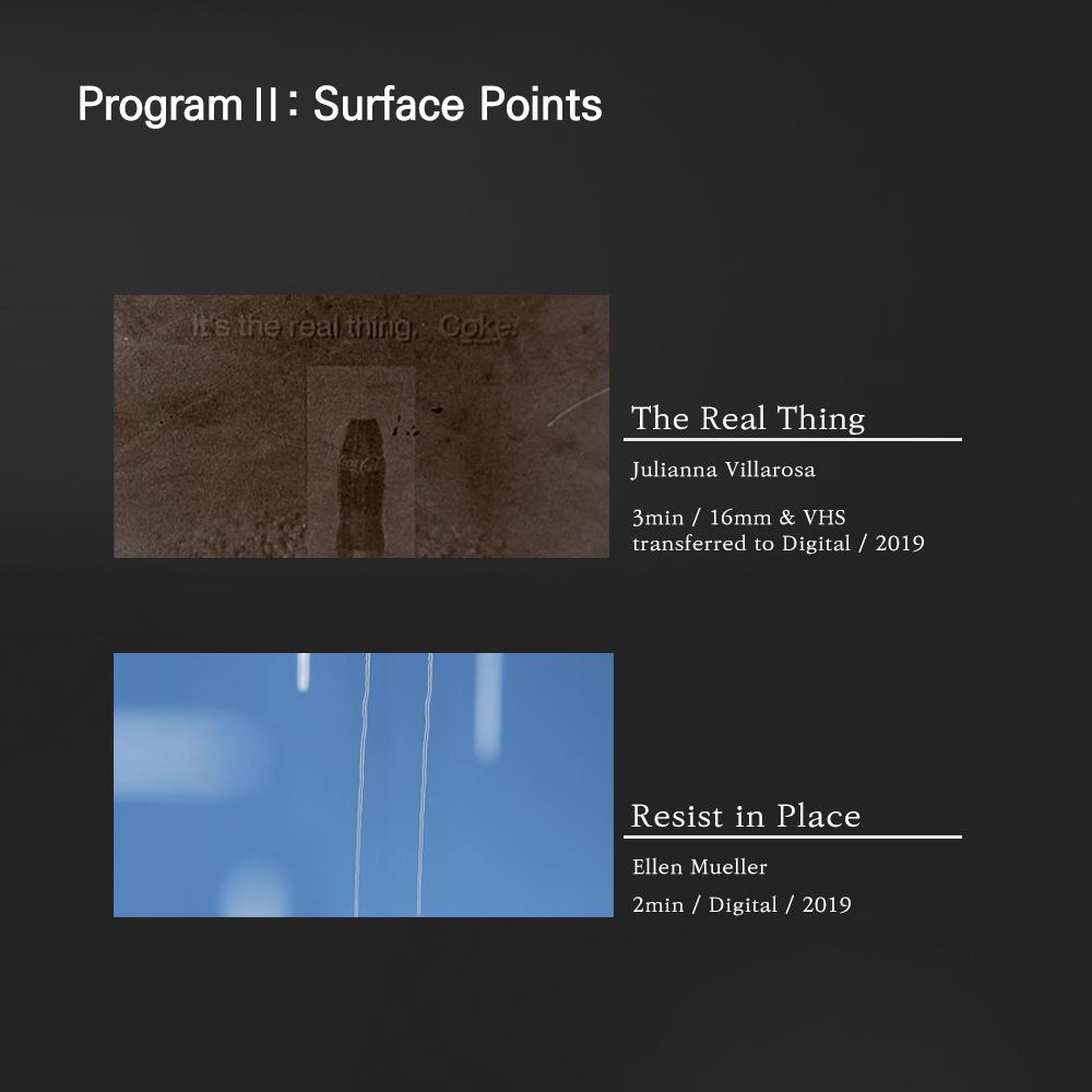 Program II: Surface Points